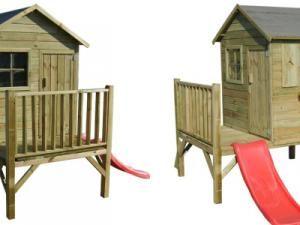 maisonnette en bois cerland charlotte ou oogarden ookid cabane enfant with oogarden aix en provence. Black Bedroom Furniture Sets. Home Design Ideas