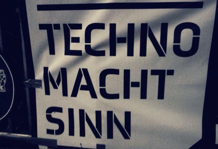 techno macht sinn