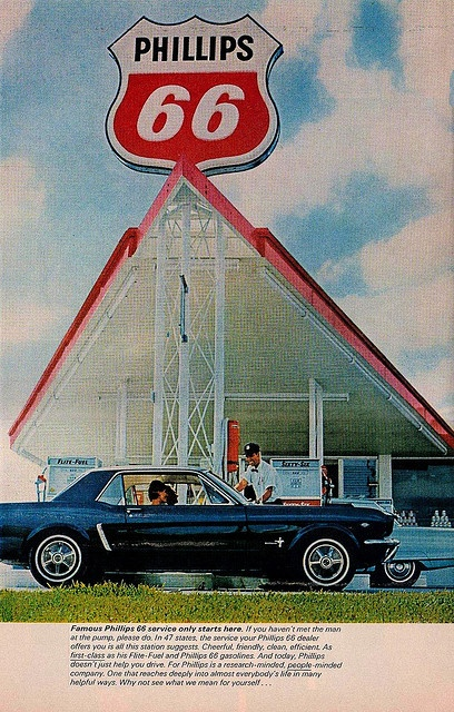 Phillips 66 Ad that appeared in Life Magazine in July of 1965