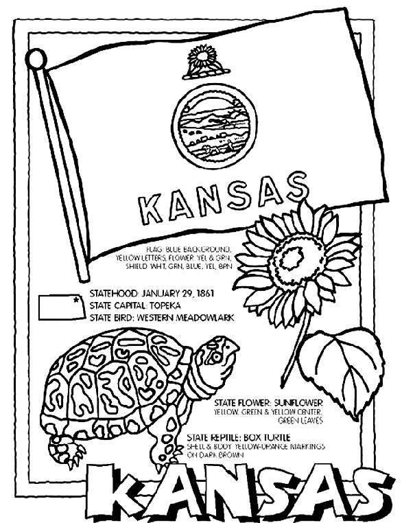 climbing kansas mountains kansas coloring page