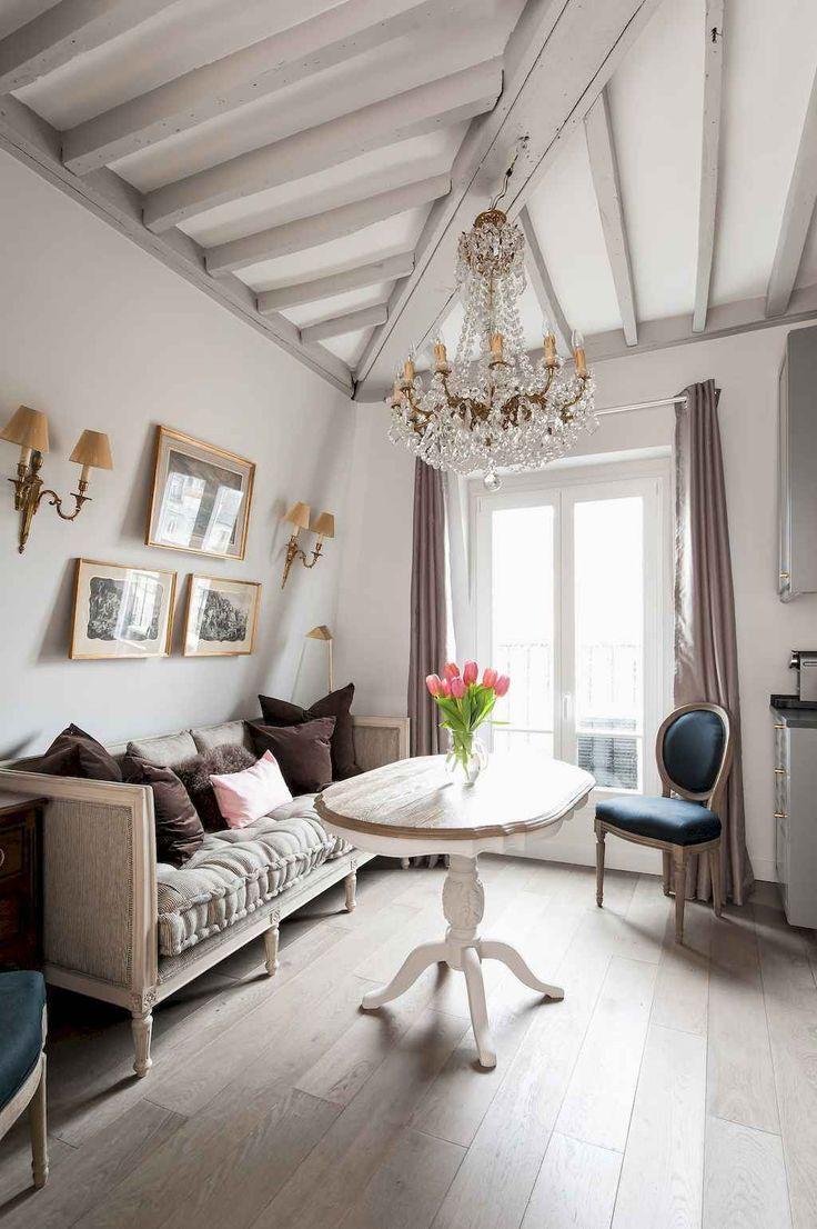 111 Beautiful Parisian Chic Apartment Decor Ideas 92 Parisian
