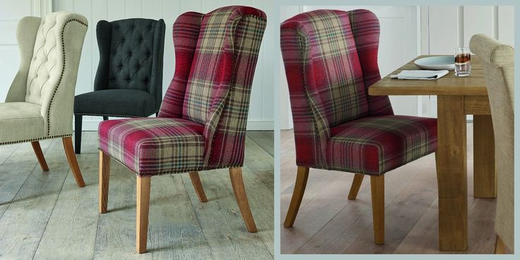 Buy Sherlock Chair Versatile Check Stirling Red From The Next UK Online Shop
