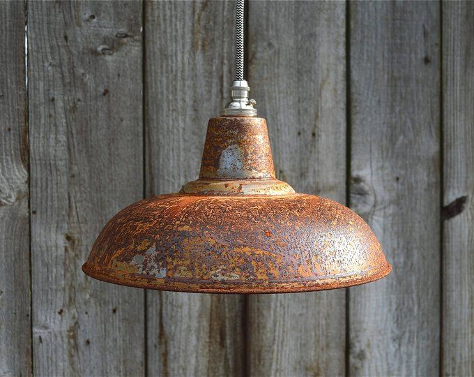 Rusty Barn Pendant Light Industrial Style Workshop Hanging Ceiling Lamp Rblsr4 Industrial Pendant Lights Pendant Light Hanging Ceiling Lamps