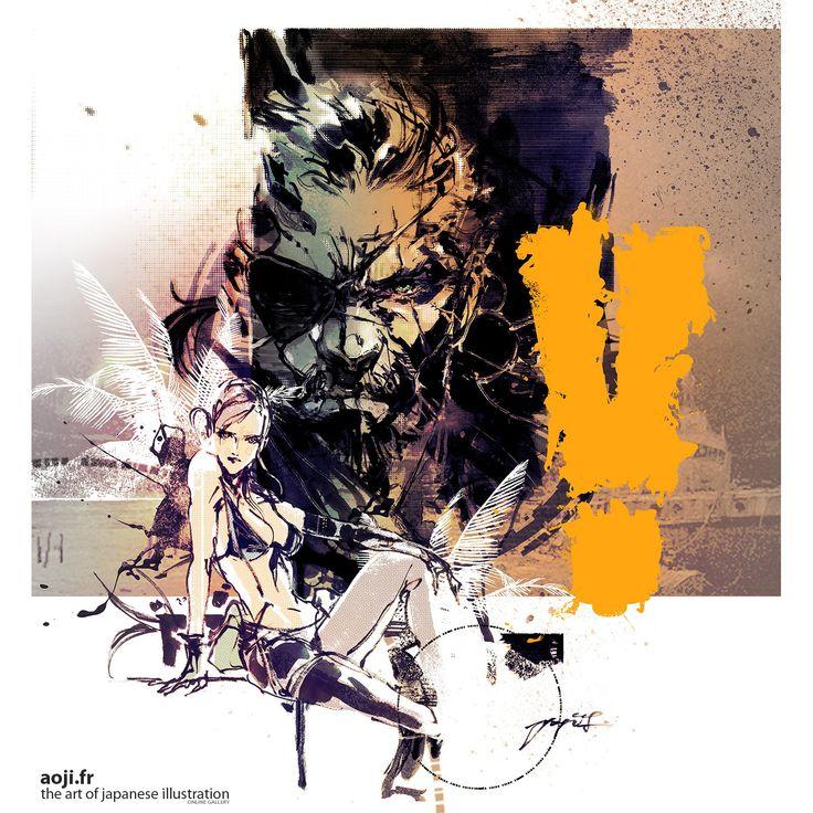 Metal Gear Solid V: The Phantom Pain - Nova artwork de Yoji Shinkawa | PS3 Brasil