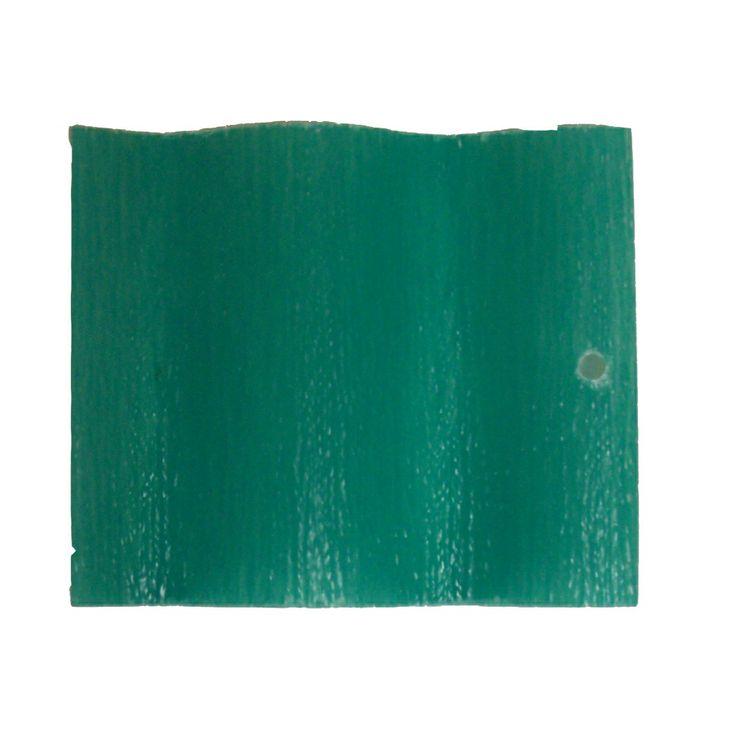 Shop Sequentia 96 In X 26 In 16 Gauge Green Corrugated Fiberglass Roof