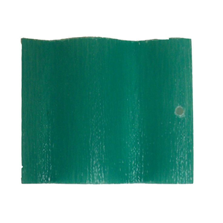 Shop Sequentia 96-in x 26-in 16-Gauge Green Corrugated Fiberglass Roof Panel at Lowes.com