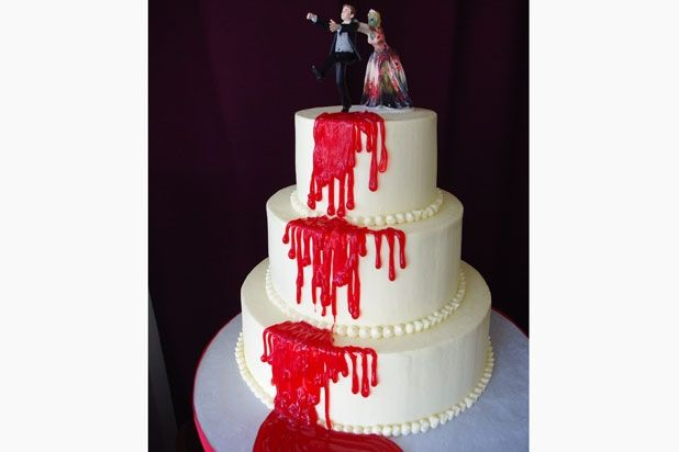 Juggalo Wedding Cake