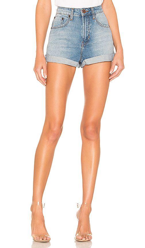 74587ea408 One Teaspoon Bandits High Waist Denim Shorts – Mod and Retro Clothing