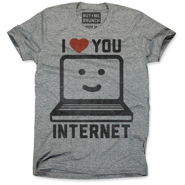 I Love Internet Tee