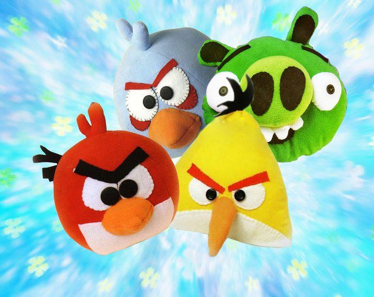 МК по пошиву злых птичек Angry Birds - http://www.chudo-korobka.com/?p=1108