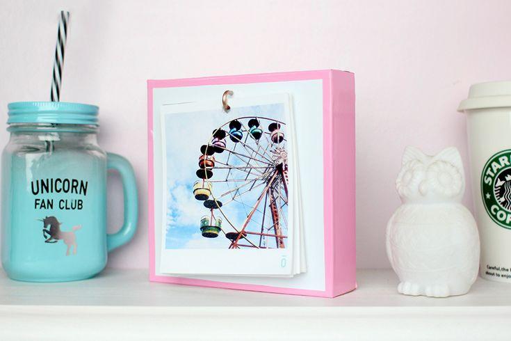 Meninices da Vida: DIY Porta Retrato Polaroid || Pinterest Inspired