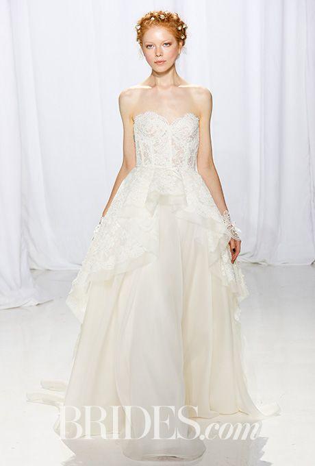 Brides: Reem Acra Wedding Dresses - Fall 2017 - Bridal Fashion Week