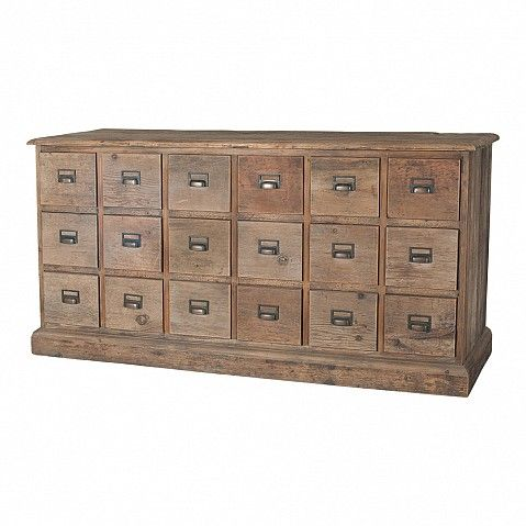 Chest of 18 'pocket' drawers - Trade Secret