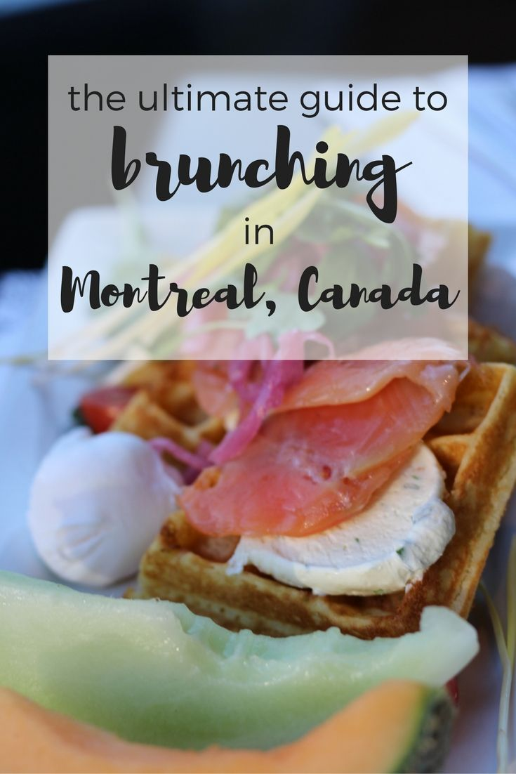 Let's start by saying that Montreal is an extraordinary foodie city. It's a city where cultures meet, which makes it easy to access and taste food from everywhere in the world. One of my favourite things to do whilst in Montreal is going out to brunch. There is nothing like treating yourself to delicious sweet and savoury food served with a warm beverage or boozy sparkles. Today I offer you this guide to brunching in Montreal. You won't want to come to Montreal and not stuff your face at one…