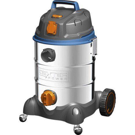 Aspirateur eau et poussières DEXTER Vq1530Siwdc, 30L 17 kPa