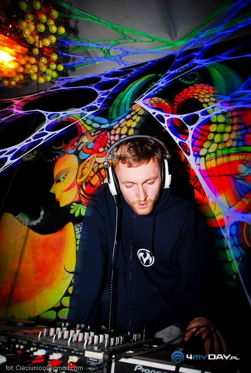 """Ochen – Founder and member of psytrance collective – """"Leśna Szajka"""" from Poland. He has made appearances at the biggest Polish psytrance events and visits"""
