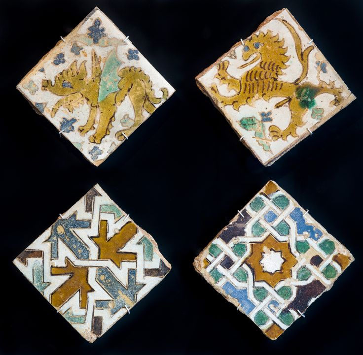 Patrimonium Hispalense > Centro Cerámica Triana > Azulejos de cuerda seca