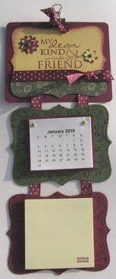 Con madera calendario 4 estaciones