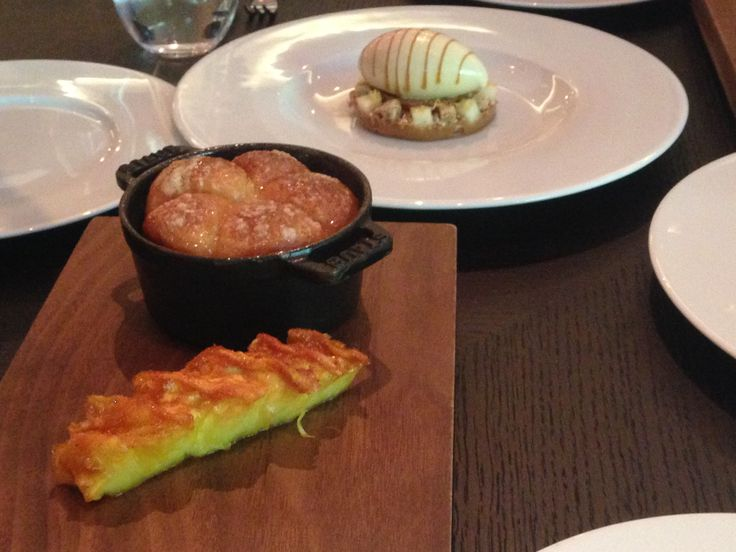 Heston's Restaurant - This was awesome - A must order  Tipsy Cake (c.1810)Spit roast pineapple