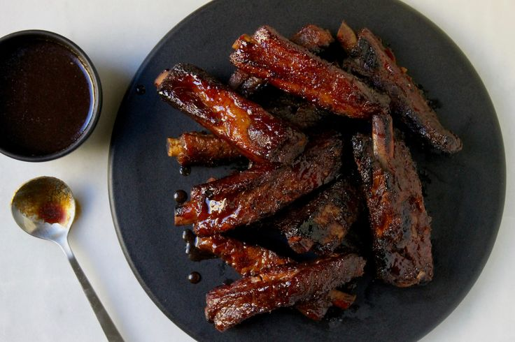 These slow-cooker char siu spareribs are more tender and more delicious than the usual take-out Chinese restaurant standard.