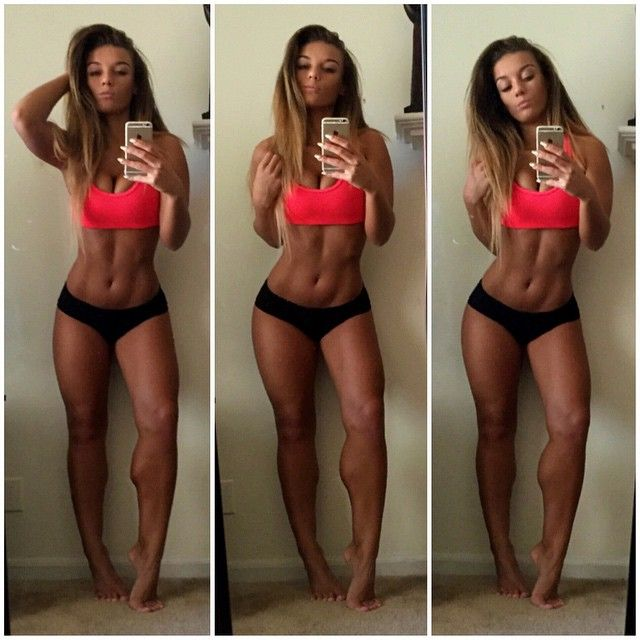 Female Fitness Goals Abs Flat Stomach Tummy Belly Muscle Fit Toned Body Gym Exercise Healthy Cardio Workout Women Jena Frumès