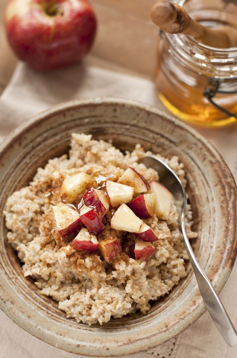 8 Warm, Healthy (but Still Hearty!) Winter Breakfasts--apple oatmeal and quinoa porridge sounds good