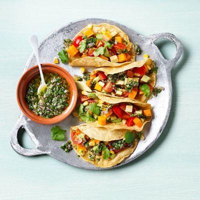 Oranje taco's. ✓Morgen vers geplukt ✓ Overmorgen in huis ✓ Heerlijke producten. Bestel nu jouw ingrediënten snel en makkelijk online!