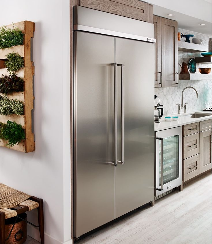 Kbsn608ess by kitchenaid sidebyside refrigerators