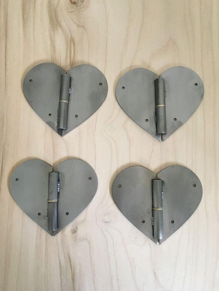 Scharnier Design Herz Möbelbeschläge Schranktür Möbelscharnier  | eBay