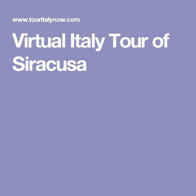 Virtual Italy Tour of Siracusa