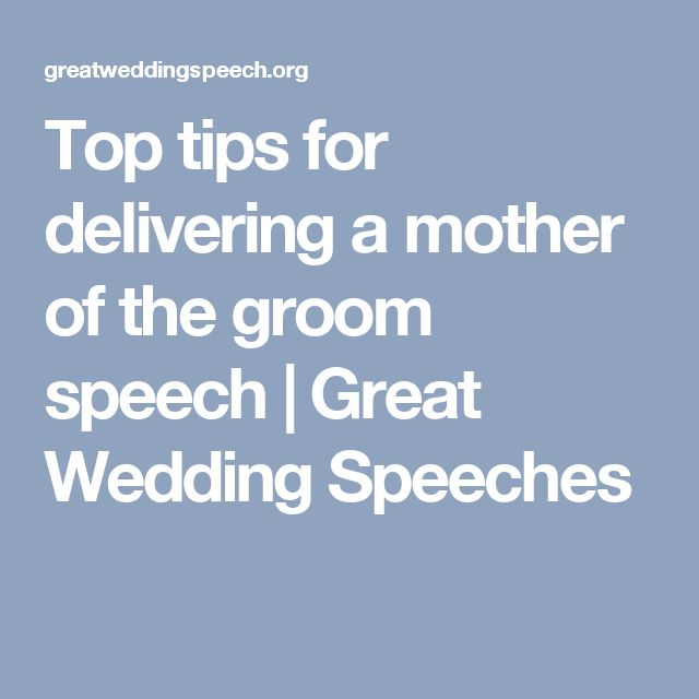 17 Best Ideas About Groom's Speech On Pinterest