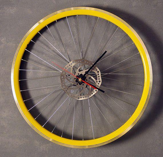 Bike Wall Clock by BikesBazaar on Etsy