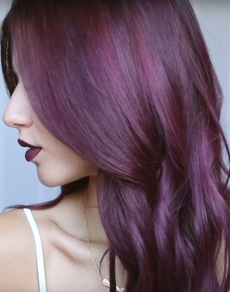 Purple Hair Color Enhancer Shampoo Color Depositing Shampoo Hair Color Purple Hair Enhancers