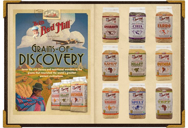 Discover a new world with heirloom grains: Grains of Discovery