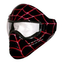Save Phace Tagged Series Paintball Mask Spiderman - Spidey Black. Available at UltimatePaintball.com