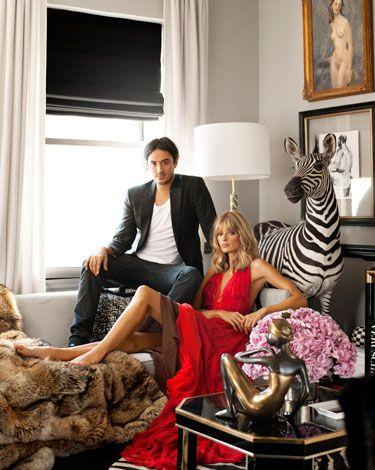 Ryan Korban, Bazaar: Design Ryan, Living Rooms, Rich Life, Ryan Korban, White Curtains, Harpers Bazaars, Interiors Design, New York Apartment, Manhattan Apartment
