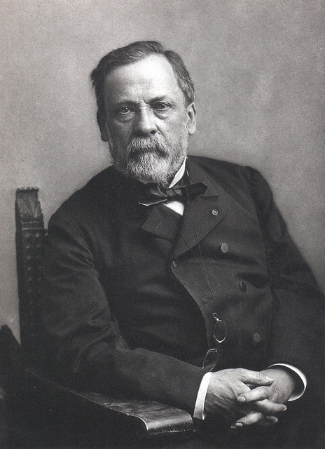 "Louis Pasteur by Félix Nadar.  ""A bottle of wine contains more philosophy than all the books in the world"""