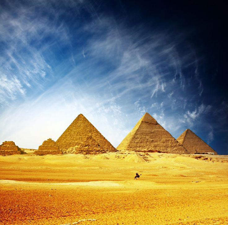 Giza Pyramids, Egypt #TravelTuesday