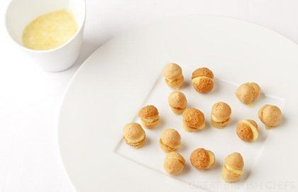 Honey Macaroons & Special French Cream Recipe - Great British Chefs