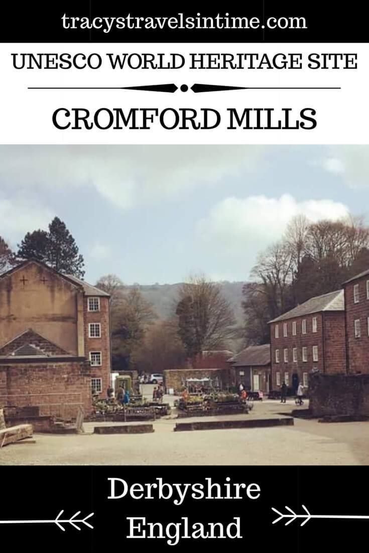Cromford Mill in the Derwent Valley in Derbyshire England are a UNESCO World Heritage Site and birthplace of the factory system.