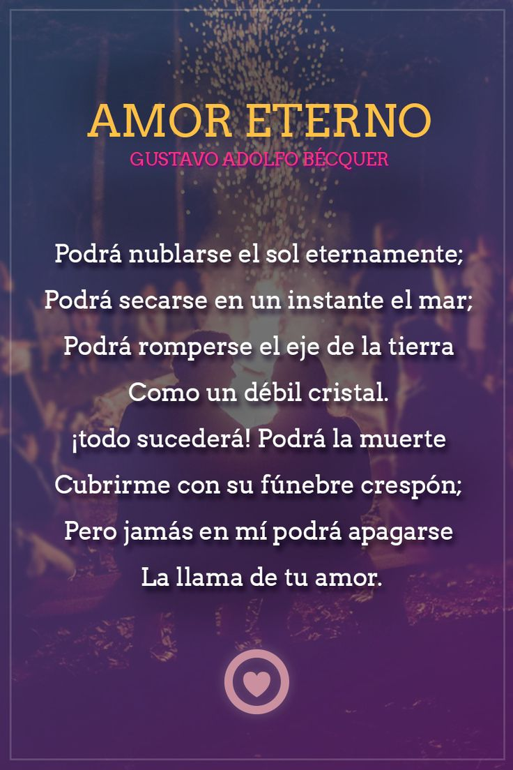 poema de amor eterno