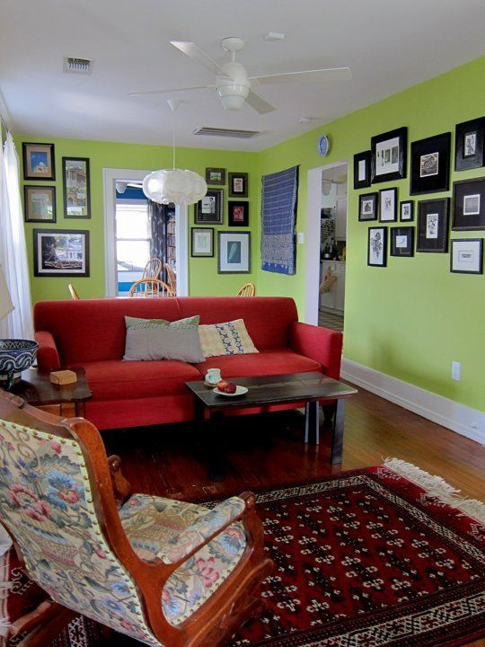 Ingrid's Saturated Colors — Small Cool Contest | Apartment Therapy