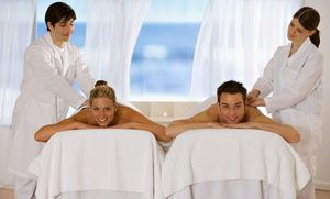 Groupon - Couples Spa Packages at Ice Creme Beauty Bar (50% Off). Three Options Available. in Huntersville. Groupon deal price: $45