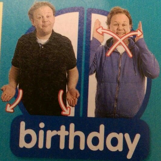 Birthday - Makaton / Sign / Mr Tumble / Something Special