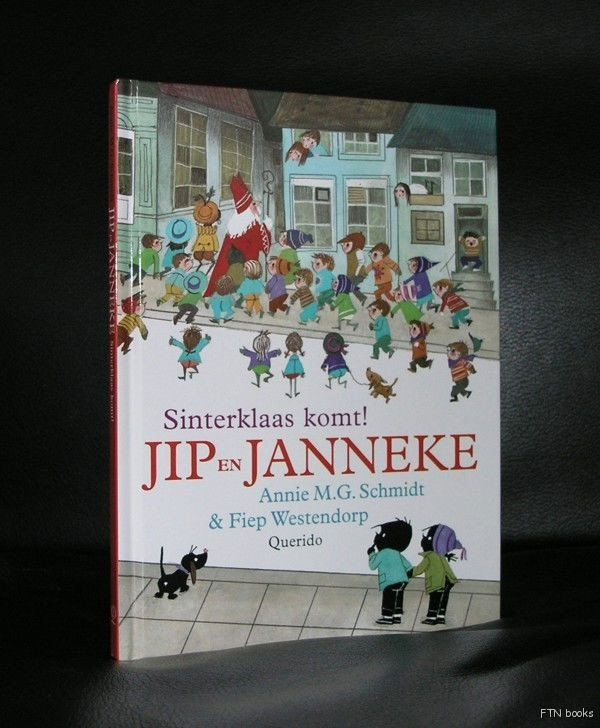 A classic Sint Nicolaas story is this SINTERKLAAS KOMT! by Annie M.G. Schmidt , illustrated by Fiep Westendorp, hardcover edition by Querido, 32 pages ,text in dutch, measuring 8.2 x 6.1 inches, mint