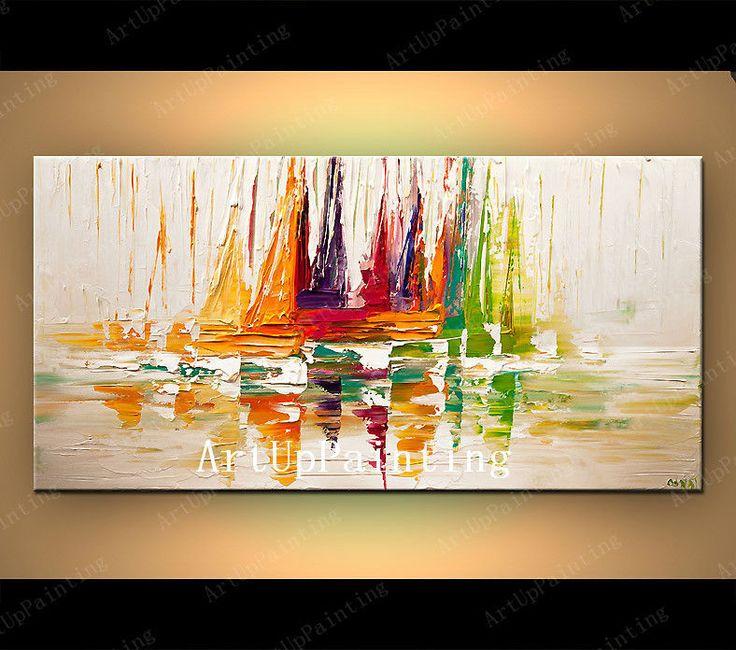 Las 25 mejores ideas sobre pinturas abstractas al leo en - Ver cuadros modernos ...
