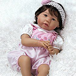 Paradise Galleries Lifelike & Realistic Asian Japanese Baby Doll, Sakura, 22 inch GentleTouch Vinyl