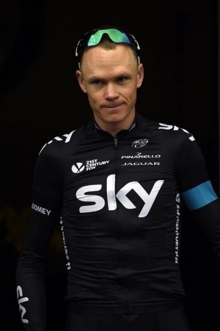 Chris Froome stated on twitter: After MRI scans there are fractures in left wrist and right hand. Heal fast!