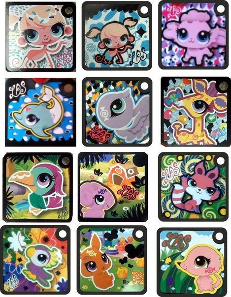 Littlest Pet Shop Tokens voor de app