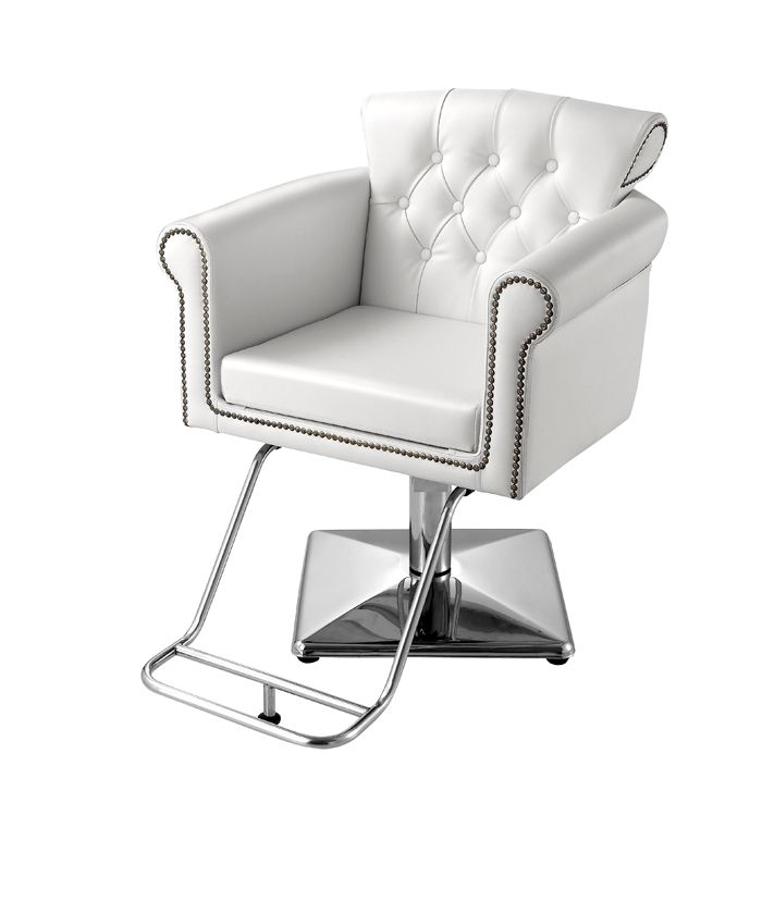 the cornwall styling chair in white standish